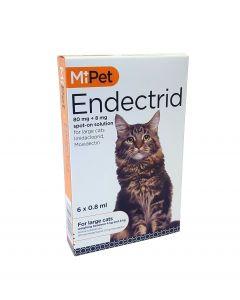 MiPet Endectrid Cat Large (Pack 6)