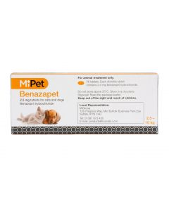 MiPet Benazapet 2.5mg (Pack of 56)