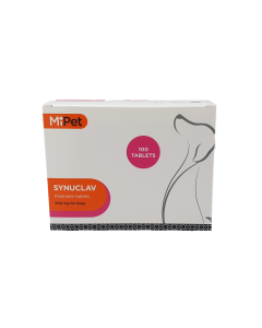 MiPet Synuclav 500mg Tablets (Pack 100)