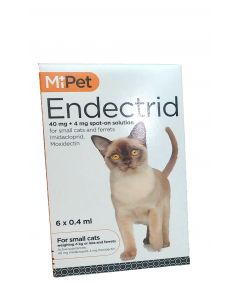 MiPet Endectrid Cat Small (Pack 6)