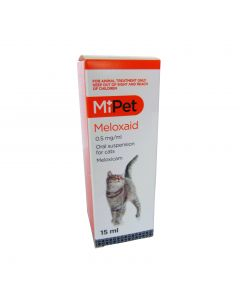 MiPet Meloxaid Oral Susp (Cat) 15ml